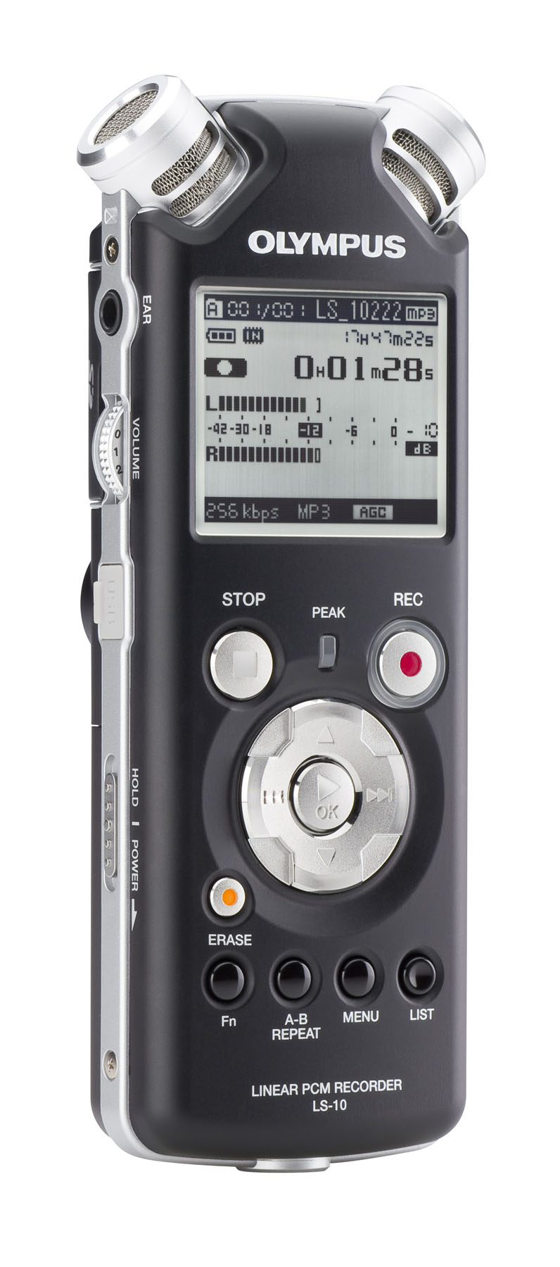 Olympus LS-10 Digital PCM Recorder