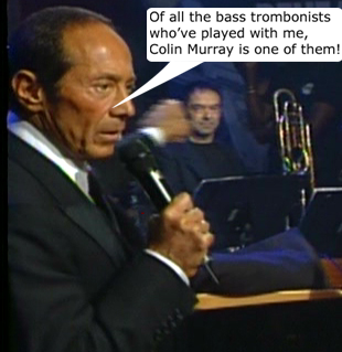 Paul Anka accuses Colin of insubordination.